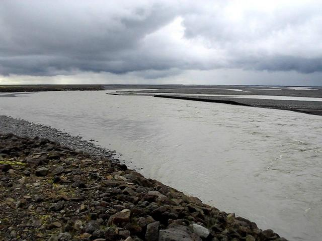 View south from dam