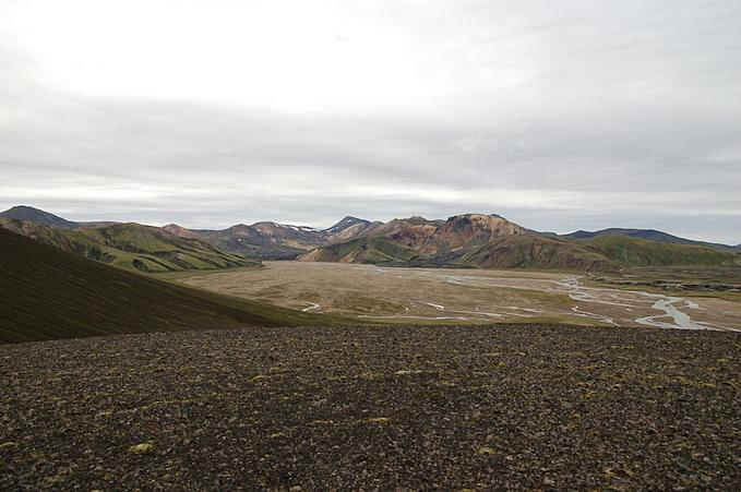General area - looking at Landmannalaugar