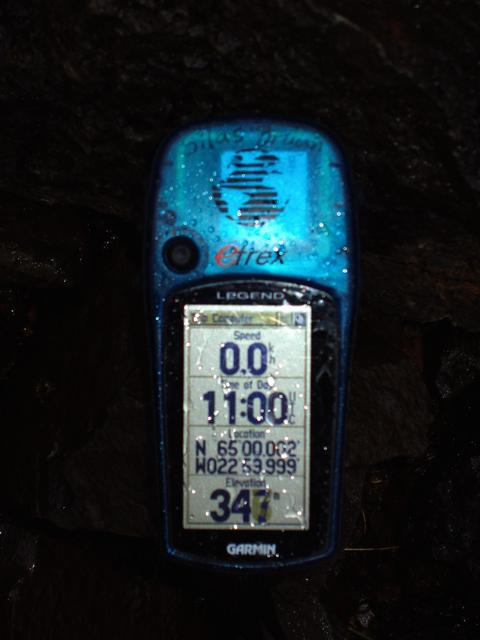 Photo of the GPS
