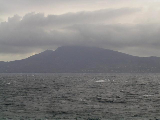 Montagna Grande, the highest elevation of the island