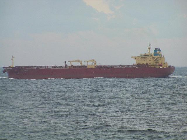 "The Russian tanker ""Krasnodar"" is approaching Gela"