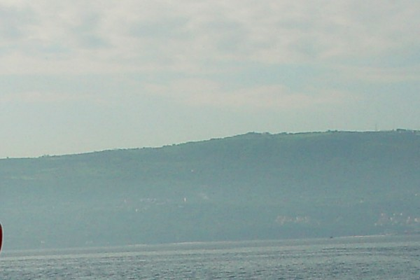 The coast line of Calabria from N39°E16°
