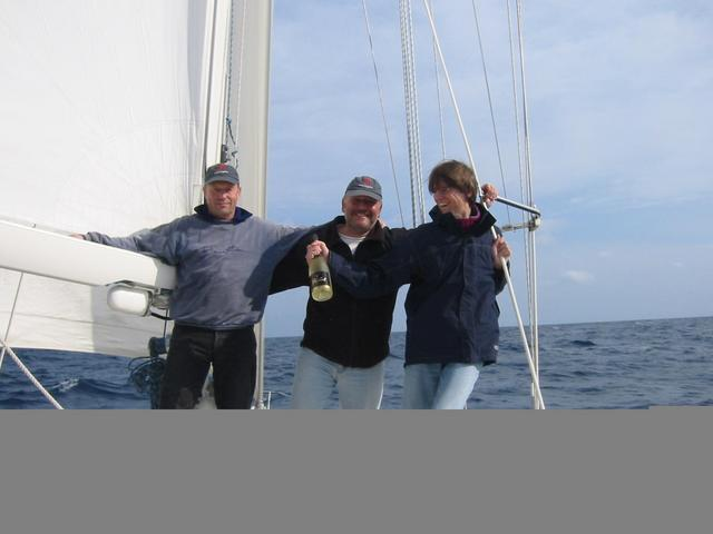 Happy Crew, view to east
