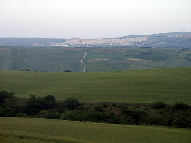 Minervino Murge in the north east