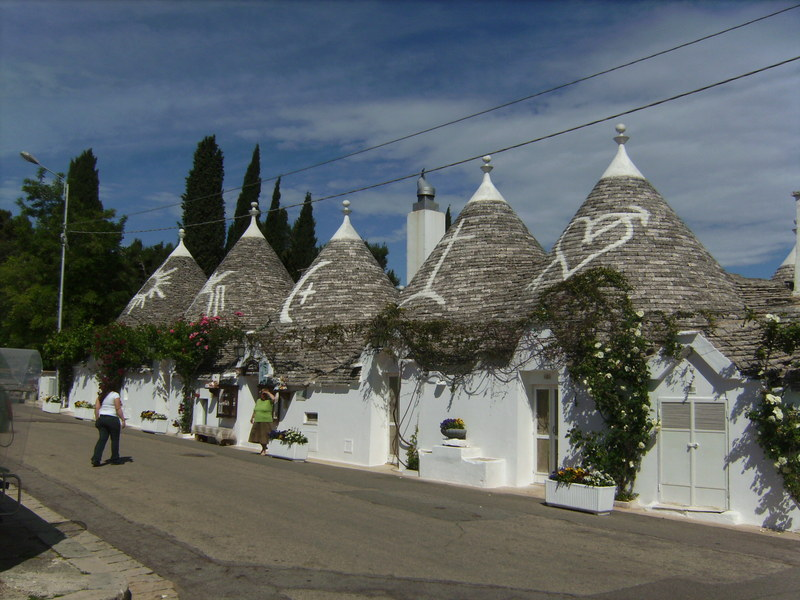 """Trulli"" in Alberobello"