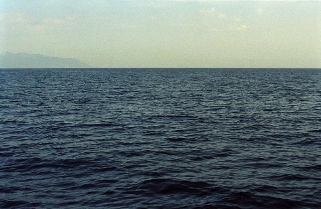 View from the confluence toward South - Elba island visible