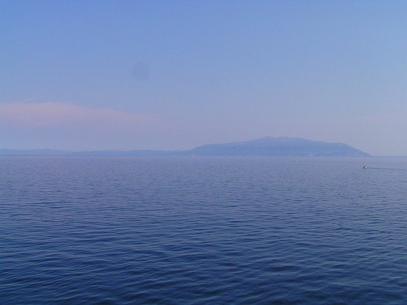 Elba seen from NW
