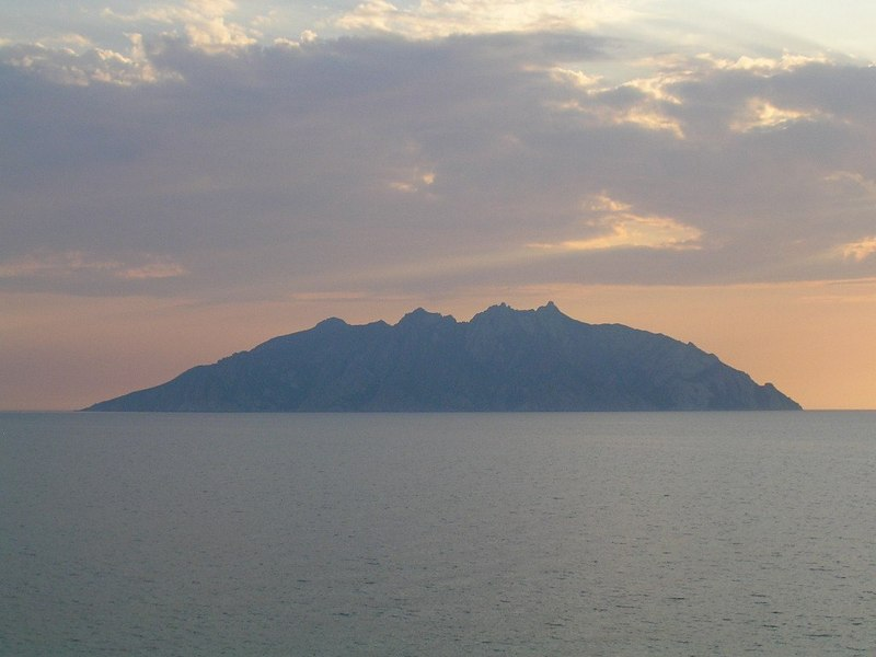 Isola di Montecristo, which became famous after Alexandre Dumas' novel