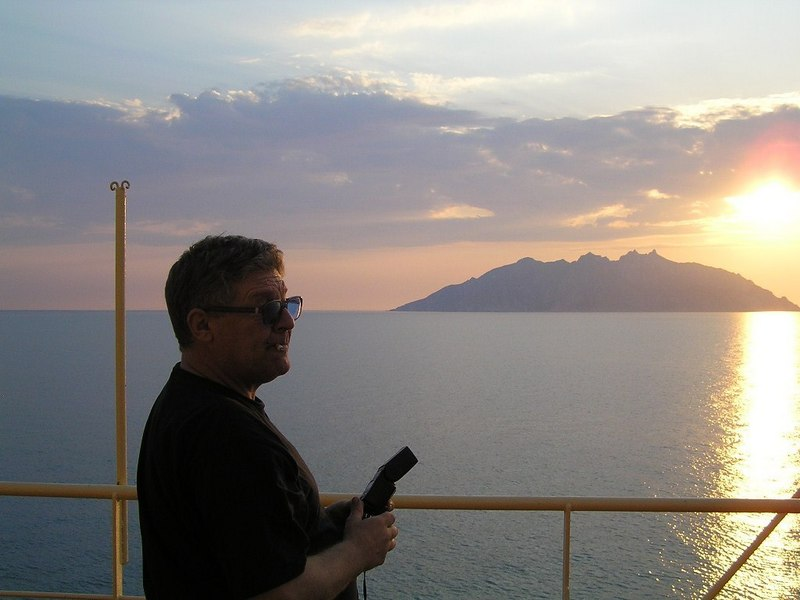 Christoph and the Island of Montecristo