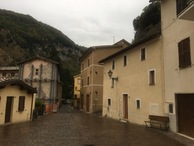 #10: The village Monte Cavallo directly below the Confluence