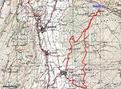 #4: GPS track of route taken overlaid onto the map