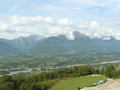 #5: on the way, view over the range of Dolomiti