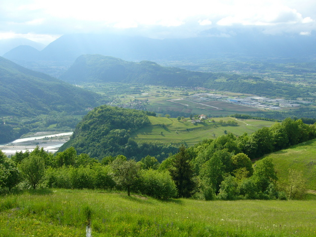 River Piave valley, 550m from CP