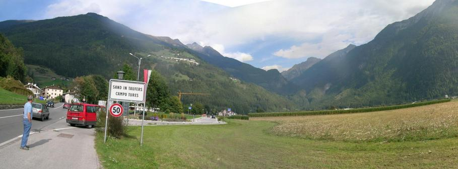 AHRNTAL entry at SAND IN TAUFERS – north east