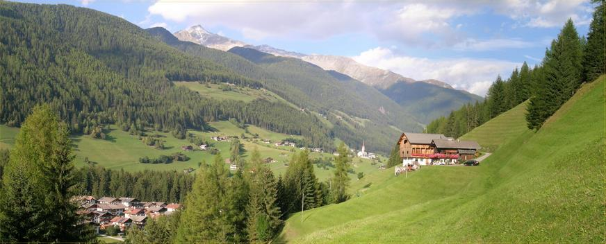 North eastern scenery – towards Austria