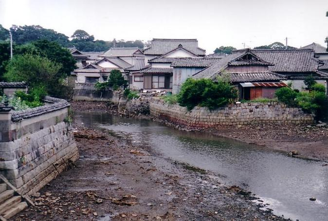 Village near Hara Castle