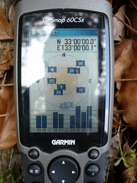 GPS reading at closest point