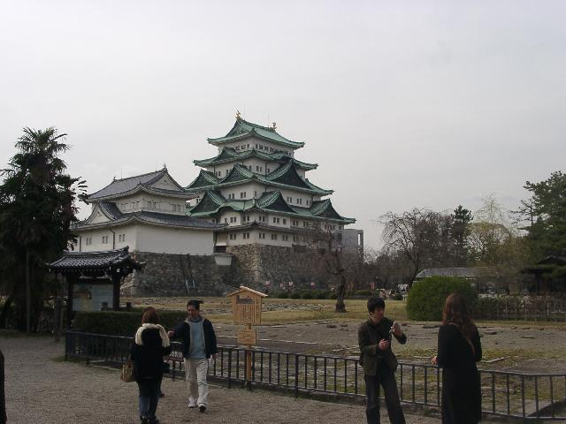 Nagoya castle, some 20 kms from 137E, 35N