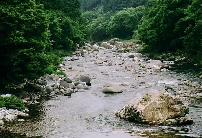 Shokawa River near N36 E137