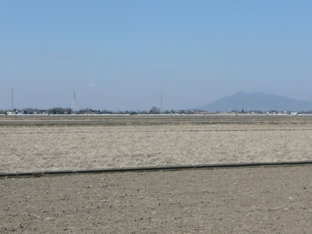 North view with Mt. Tsukuba in the background