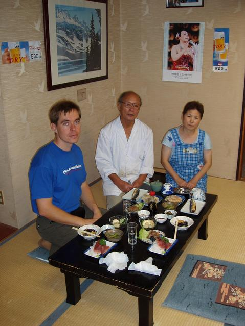 Mr and Mrs Suzuki and the dinner the night before