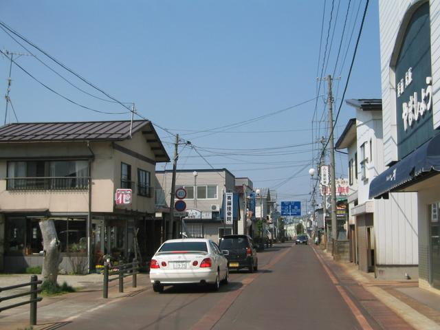 Little town of Kawanishi.