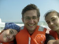 #4: Anna, Philipp and Katharina seasick but happy