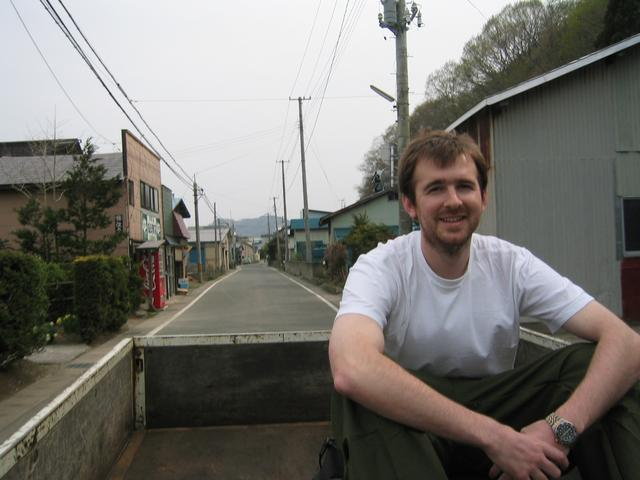 Hitching a ride to Shiranai.  Alex in this one.