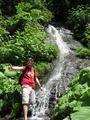#3: Me in front of a nice waterfall.