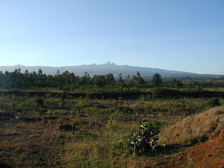 #1: 17,000 ft Mt. Kenya dominates region