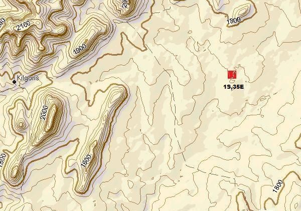 Topo map detail of Confluence