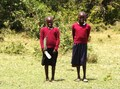 #10: Two Masai School Children