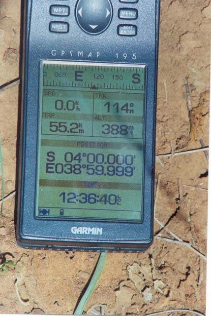 GPS coordinates as close as possible