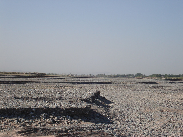 from the confluence looking south towards jalal abad
