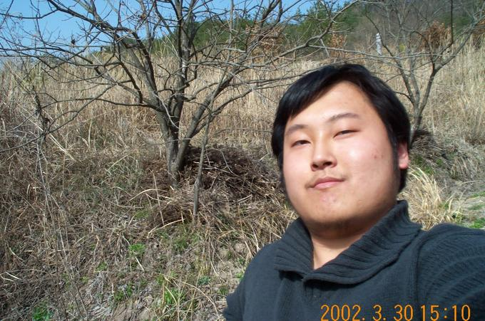 This is me with the northern background.