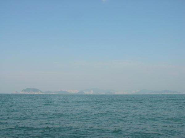 Looking north: Dadaepo beach (Busan)