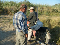 #6: Polat, the boar carcass and his ancient motorcycle