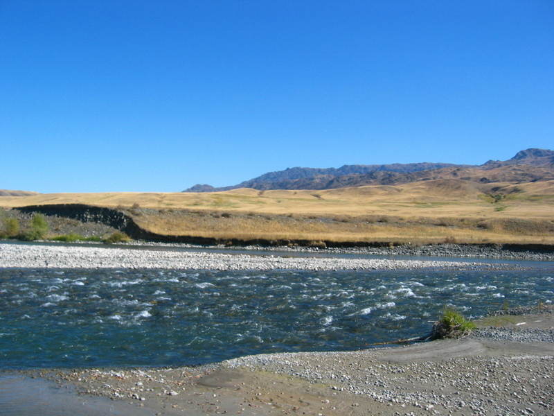 The River 260 m from the Confluence Point