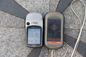 #6: GPS reading at the monument