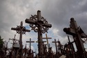 "#7: Lithuania's famed ""Hill of Crosses"" - west of the point"
