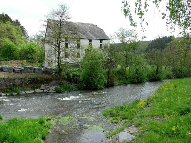 Old mill in Village of Enscherange / Alte Mühle in Enscherange