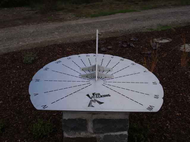 the newly appeared sundial