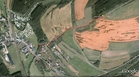 #7: My track on the satellite image (© Google Earth 2009)