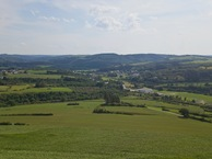 #10: View South (towards the village of Wilwerwiltz) from 50m above the point