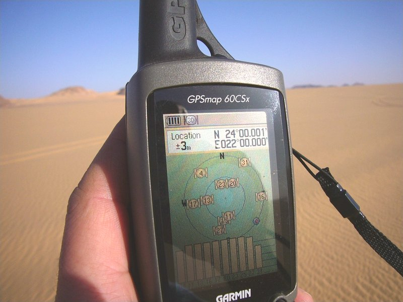 GPS at the location