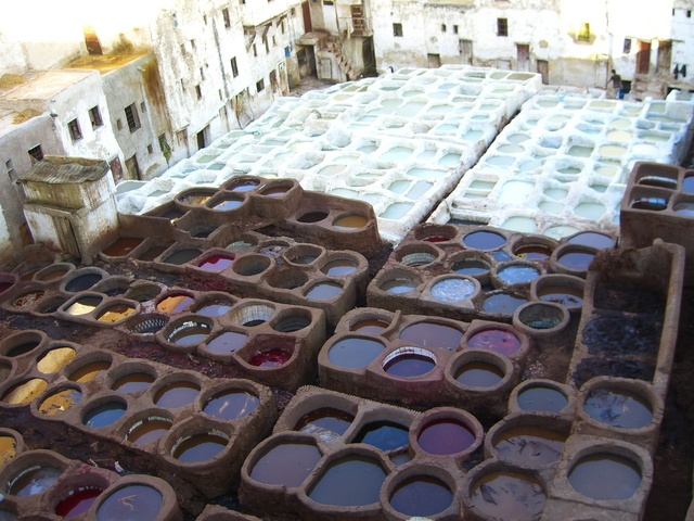 Tanneries at Fès