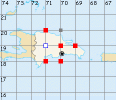 Dominican Rep. map