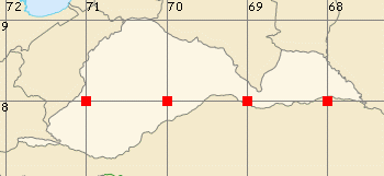 Barinas map