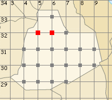 Ouargla map