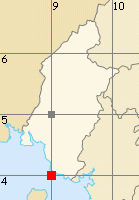 Sud-Ouest map